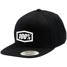 100% Corpo Snapback Hat black